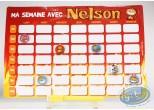 Jouet, Nelson : Ton semainier magnétique
