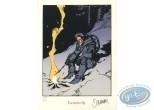 Ex-libris Sérigraphie, Nash : Nash feu de camp