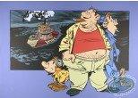 Affiche Sérigraphie, Innommables (Les) : Le bateau