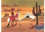 Affiche Offset, Lucky Luke : Sunset