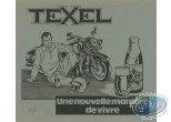 Ex-libris Sérigraphie, Maîtres de l'Orge (Les) : Texel (n&b)