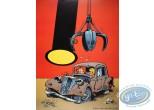 Affiche Offset, Petit Spirou (Le) : La Traction