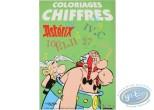 Livre enfant, Astérix : Coloriages, Chiffres (Grand format)