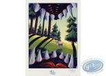 Ex-libris Offset, Fontaine aux Fables (La) : Le Loup et l'Agneau