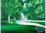 Lithographie, Illustrateur : Golf