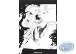 Ex-libris Offset, Weëna : Femme et bébé dragon volant