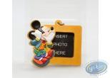 Figurine plastique, Mickey Mouse : Porte-clé Cadre brun Mickey, Disney