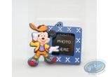Figurine plastique, Mickey Mouse : Porte-clé Cadre bleu Mickey, Disney