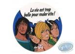 Autocollant, Thorgal : Thorgal et Julie, Claire, Cécile