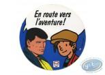 Autocollant, Michel Vaillant : Bob Morane et Nino