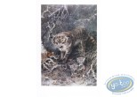 Affiche Offset, Chat sauvage