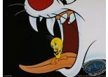 Affiche Offset, Titi : Dans la gueule du chat 40X30 cm