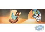 Affiche Offset, Tom et Jerry : Reading time 15X45 cm