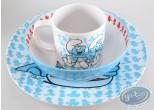 Art de la Table, Schtroumpfs (Les) : Set assiette et tasse en mélamine
