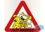 Autocollant, Marsupilami (Le) : Just married