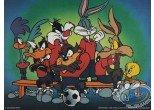 Affiche Offset, Looney Tunes (Les) : L'équipe 80X60 cm