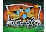 Affiche Offset, Daffy Duck : Daffy goal 50X40 cm