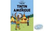 Affiche Offset, Tintin : Tintin en Amérique