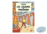Affiche Offset, Tintin : Les cigares du Pharaon