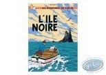 Affiche Offset, Tintin : L'île noire