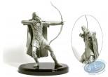 Figurine métal, Seigneur des Anneaux (Le) : Legolas (étain pur)