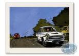 Affiche Offset, Starter : Cortina blanche