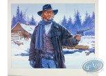 Affiche Offset, Durango : Durango au pistolet dans la neige