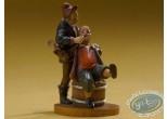 Statuette résine, Tableaux en 3D : Heemskerck - Dentiste