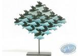 Statuette résine, Tableaux en 3D : Air et Eau
