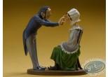 Statuette résine, Tableaux en 3D : Magnétiseur