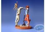 Statuette résine, Tableaux en 3D : Salvador Dali - Poésie d'Amérique - Les Athlètes cosmiques