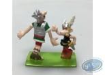 Figurine métal, Astérix : Astérix et le Romain
