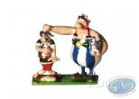 Figurine métal, Astérix : Obélix et le Romain