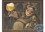Ex-libris Offset, Moine et bière