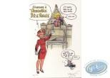 Ex-libris Offset, Cupidon : Cupidon hommage à Spirou