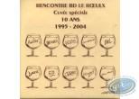 Etiquette de Vin, Cuvée spéciale 10 ans 1995-2004