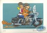 Ex-libris Offset, Fondus de moto (les) : Duo Glide