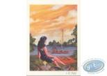 Ex-libris Offset, Fille au bord de l'eau