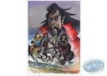 Ex-libris Offset, Percevan : La chevauchée