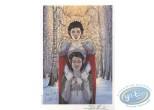 Ex-libris Offset, Bois des Vierges (Le) : Dans la Forêt