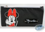 Bagagerie, Mickey Mouse : Trousse rectangulaire Minnie noire, Disney