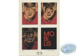 Ex-libris Sérigraphie, Mobilis : Ross Nevada