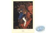 Ex-libris Sérigraphie, Bateau-Feu (Le) : Prudence