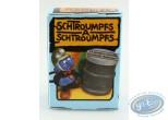Figurine plastique, Schtroumpfs (Les) : Schtroumpf pompier + boite