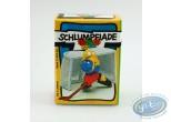 Figurine plastique, Schtroumpfs (Les) : Schtroumpf gardien de hockey + boite