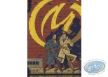 Carte postale, Blake et Mortimer : Carte publicitaire Blake et Mortimer par Le Soir