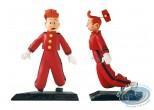 Statuette résine, Spirou et Fantasio : Chaland, Spirou étonné