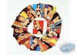 Portfolio, Pin-Up : Cartes de 40 très jolies filles de Walter Minus - Série spéciale (Edition limitée)