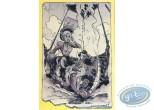 Carte postale, Hommage à Walthery, Les Grands Ancêtres  par A. Floc'h