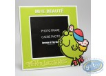 Cadre photo, Monsieur et Madame : PVC Photo Frame, Mrs. Beautiful : Green